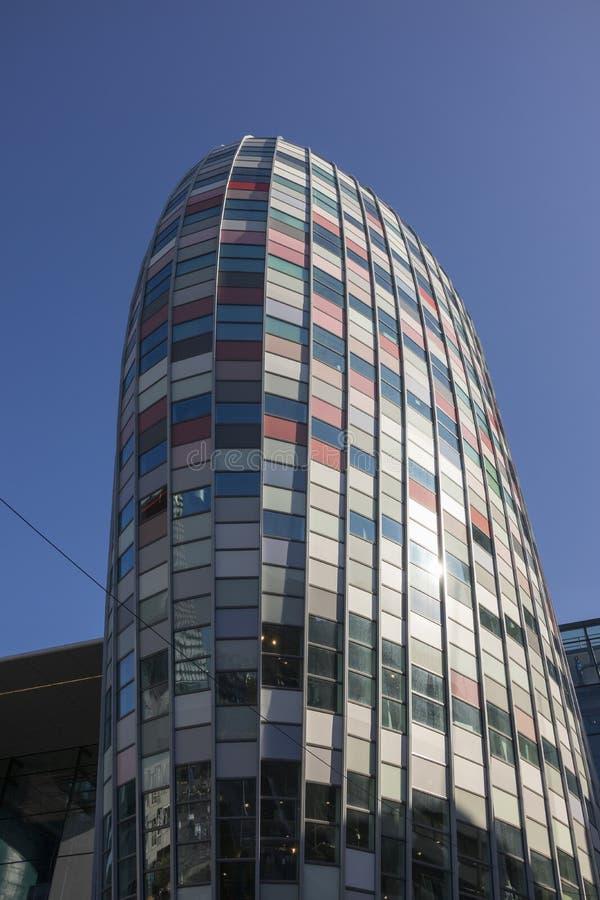 Ουτρέχτη, Κάτω Χώρες - 27 Σεπτεμβρίου 2018: Νέο εμπορικό κέντρο Χ στοκ φωτογραφία