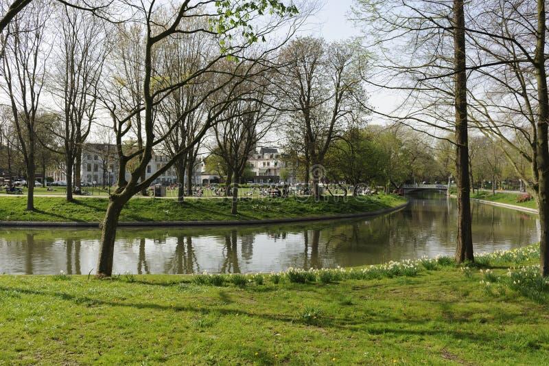 Ουτρέχτη κανάλι Ολλανδία στοκ φωτογραφίες με δικαίωμα ελεύθερης χρήσης