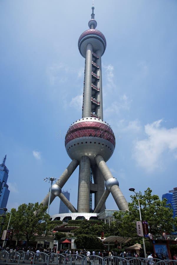 18$ου το 2010 ληφθείς η Σαγγάη πύργος φωτογραφιών μαργαριταριών της Κίνας Νοέμβριος ασιατικός στοκ φωτογραφίες