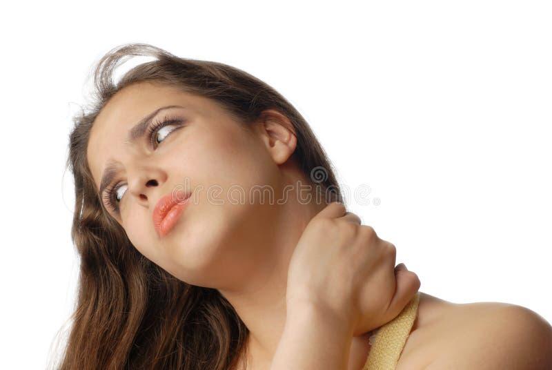 οφειλόμενος πόνος κούρα& στοκ φωτογραφία με δικαίωμα ελεύθερης χρήσης
