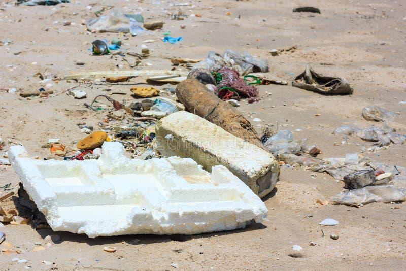 οφειλόμενος foamy αφρός ρύπανσης χημικών ουσιών παραλιών αλγών υπαίθρια στοκ φωτογραφίες με δικαίωμα ελεύθερης χρήσης