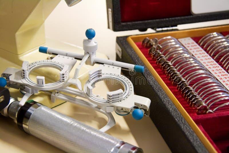 οφθαλμολόγος οργάνων στοκ φωτογραφία με δικαίωμα ελεύθερης χρήσης