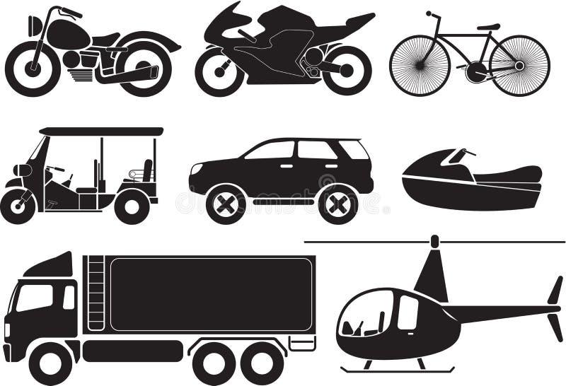 οχήματα διανυσματική απεικόνιση
