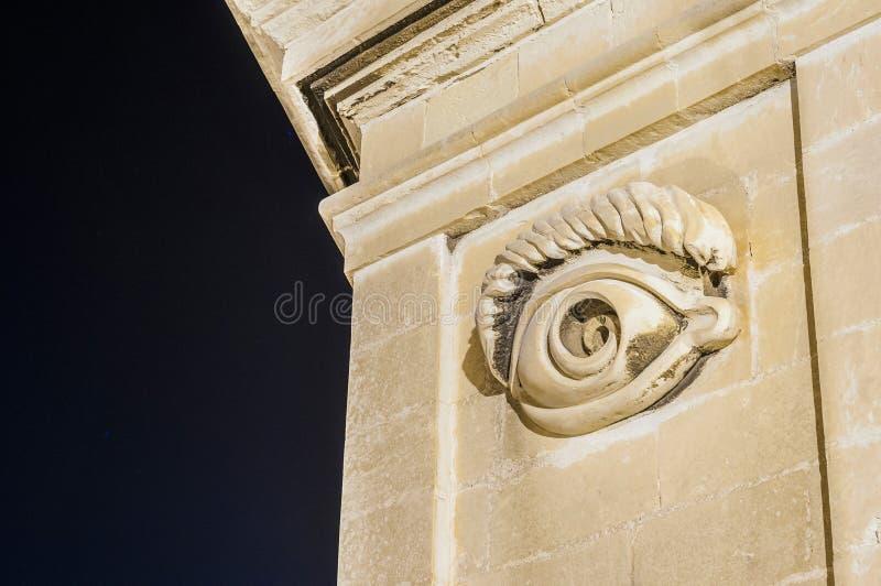 Οχυρό Άγιος Michael σε Senglea, Μάλτα στοκ φωτογραφίες