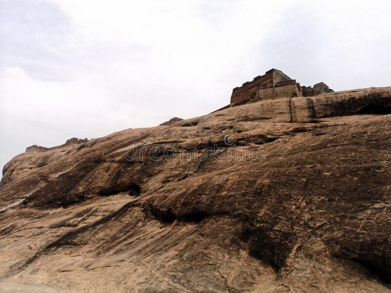 Οχυρό βράχου Dindigul στοκ φωτογραφία με δικαίωμα ελεύθερης χρήσης