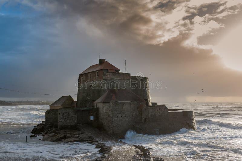 Οχυρό δ ` Ambleteuse, αποκαλούμενο επίσης οχυρό Vauban στοκ εικόνες