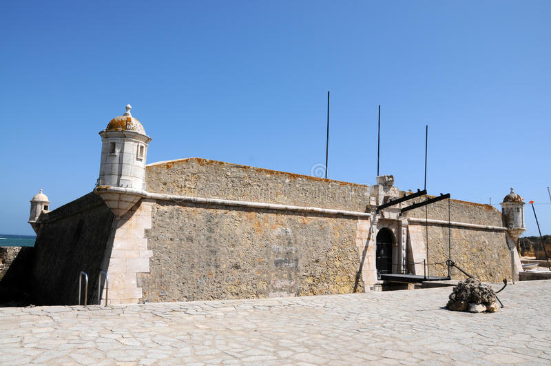 Οχυρό στο Λάγκος στοκ φωτογραφία με δικαίωμα ελεύθερης χρήσης