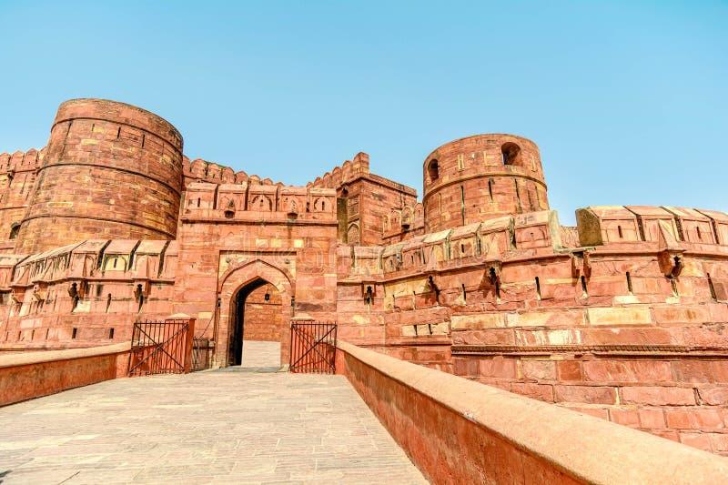 Οχυρό Agra, Agra, Ουτάρ Πραντές στοκ φωτογραφίες με δικαίωμα ελεύθερης χρήσης