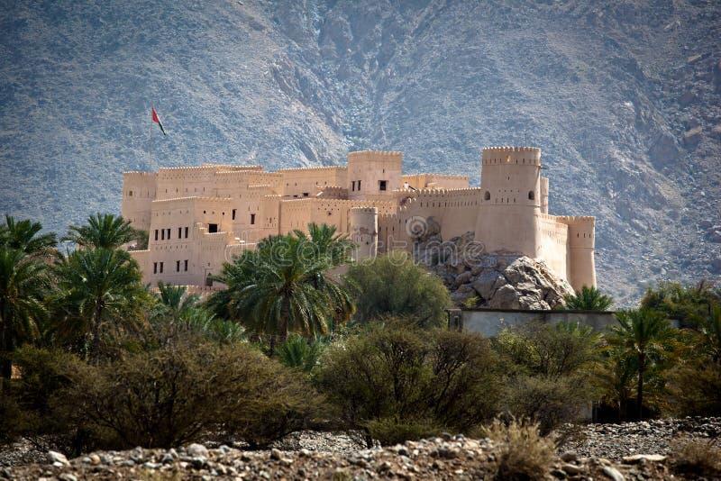 οχυρό Al batinah nakhl στοκ φωτογραφίες με δικαίωμα ελεύθερης χρήσης