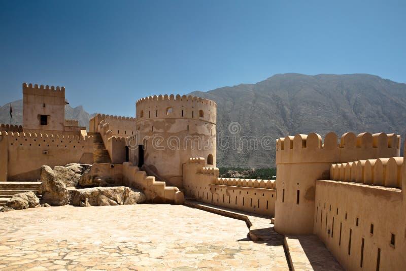 οχυρό Al batinah nakhl στοκ εικόνα με δικαίωμα ελεύθερης χρήσης