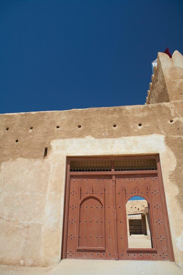 οχυρό Al zubarah στοκ φωτογραφία