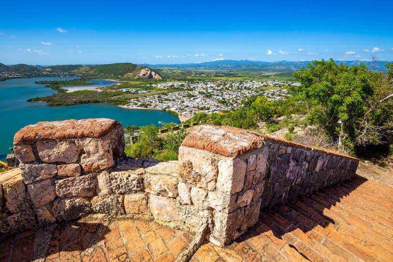 Οχυρό Capron στη φυσική έλξη Guanica Πουέρτο Ρίκο στοκ φωτογραφίες με δικαίωμα ελεύθερης χρήσης
