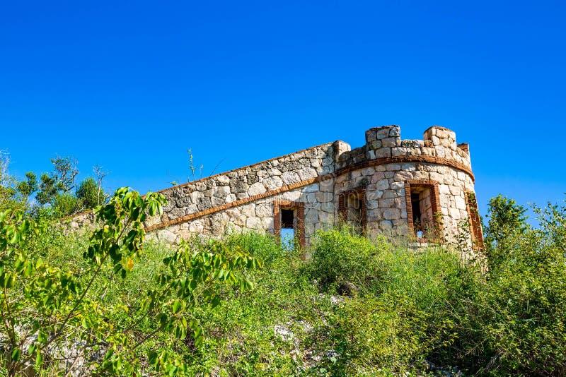Οχυρό Capron στη φυσική έλξη Guanica Πουέρτο Ρίκο στοκ εικόνες