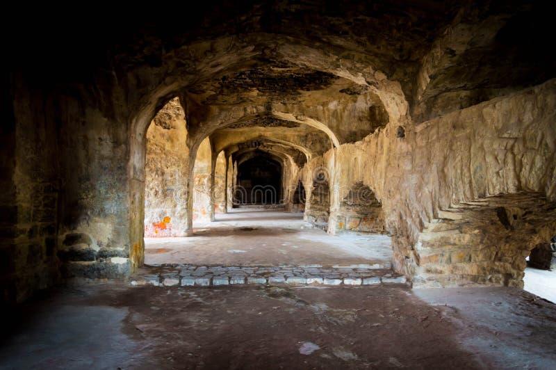 Οχυρό Golconda, Hyderabad - Ινδία στοκ εικόνα