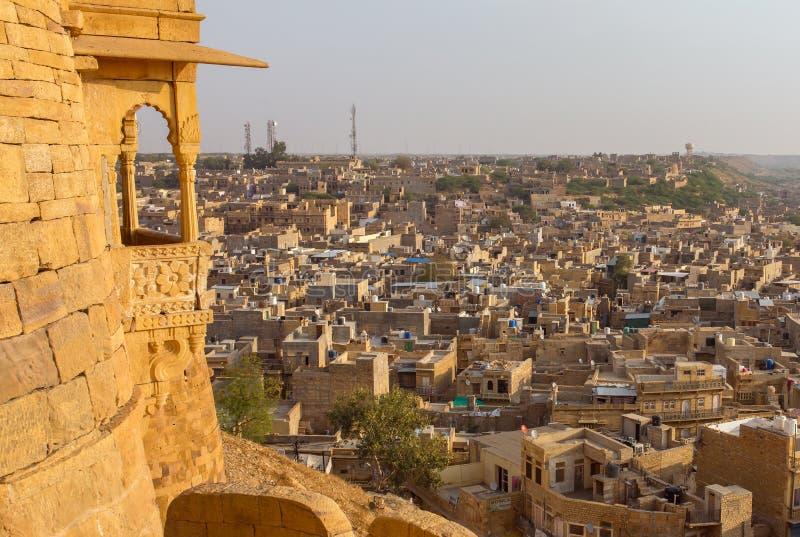 Οχυρό Jaisalmer στο Rajasthan στοκ εικόνες με δικαίωμα ελεύθερης χρήσης