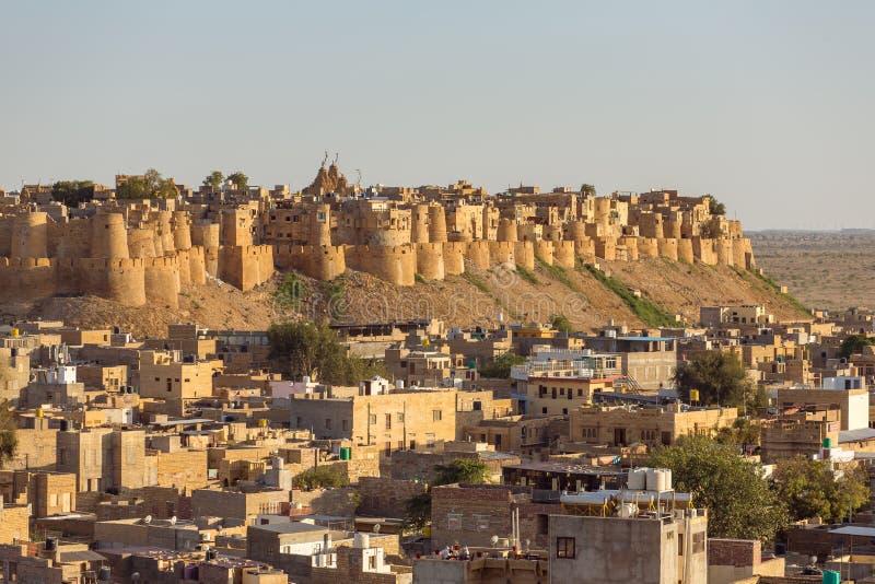 Οχυρό Jaisalmer στο Rajasthan στοκ εικόνα με δικαίωμα ελεύθερης χρήσης