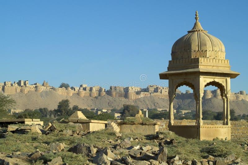 οχυρό jaisalmer στοκ εικόνες