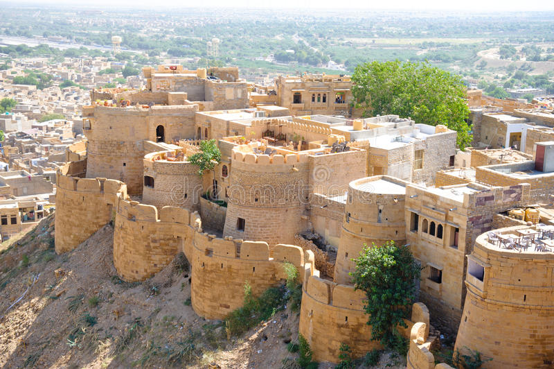 οχυρό jaisalmer στοκ φωτογραφία με δικαίωμα ελεύθερης χρήσης