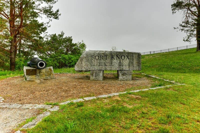 Οχυρό Knox - Μαίην στοκ φωτογραφίες με δικαίωμα ελεύθερης χρήσης