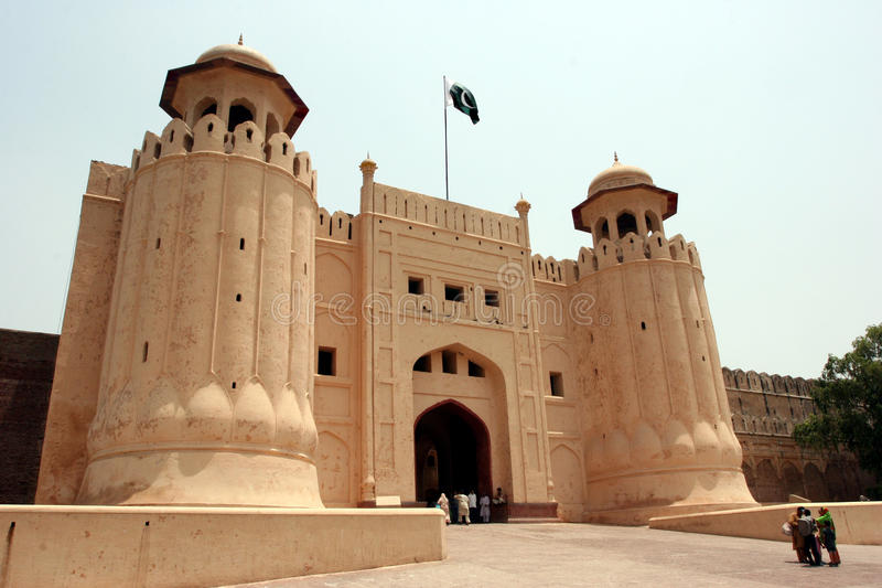 Οχυρό Lahore στοκ φωτογραφίες