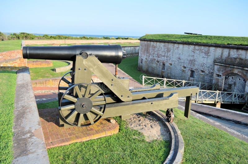 Οχυρό Macon N.C. στοκ φωτογραφία