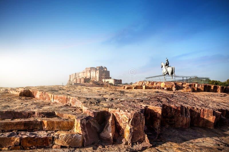 Οχυρό Mehrangarh στην Ινδία στοκ φωτογραφίες με δικαίωμα ελεύθερης χρήσης