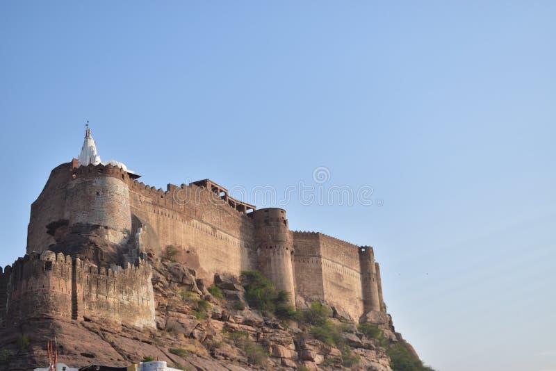 Οχυρό Mehrangarh στοκ εικόνα