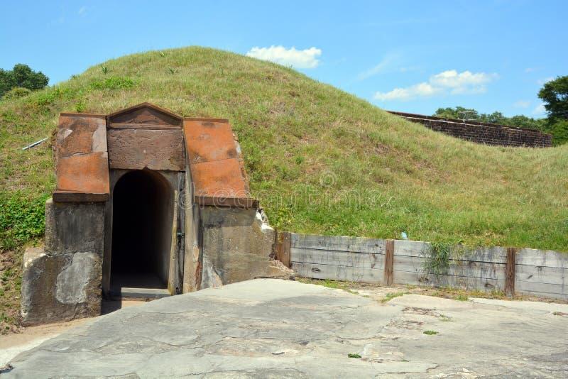 Οχυρό Moultrie στοκ εικόνες