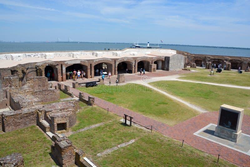Οχυρό Sumter στοκ φωτογραφία με δικαίωμα ελεύθερης χρήσης