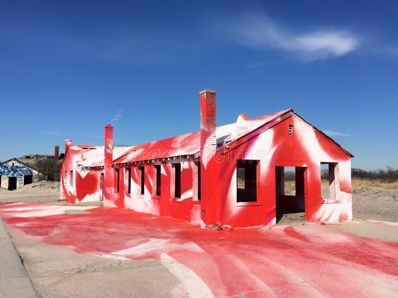 Οχυρό Tilden Rockaway στοκ φωτογραφίες