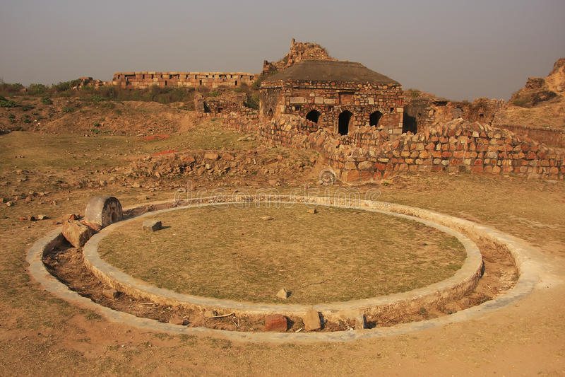 Οχυρό Tughlaqabad, Νέο Δελχί στοκ φωτογραφία