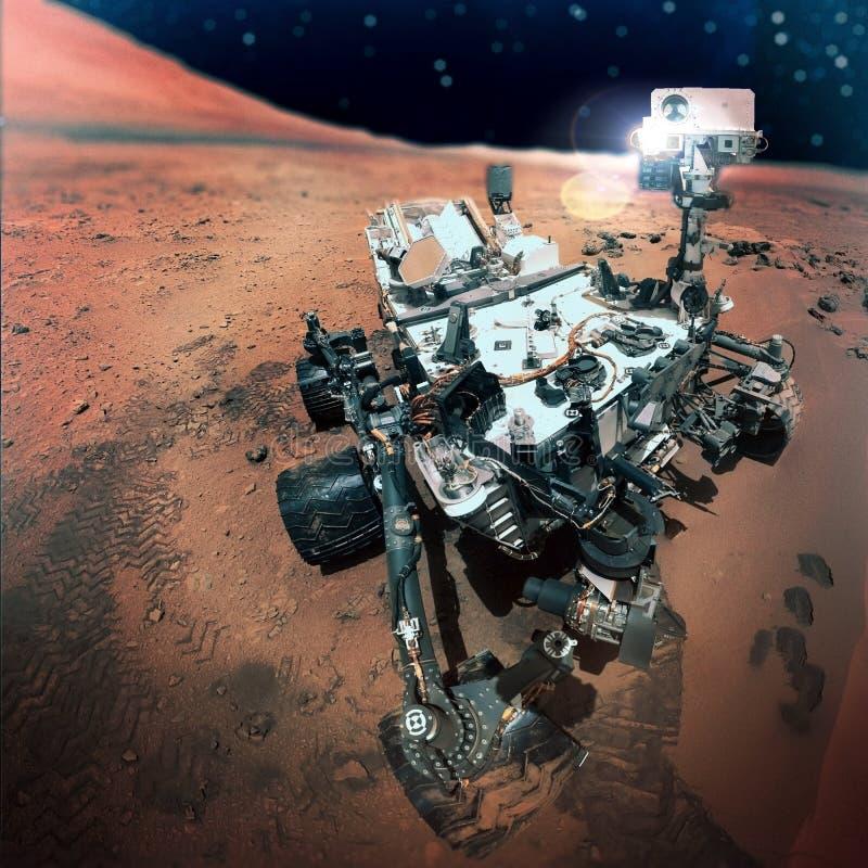 Ο Άρης Rover στοκ εικόνα