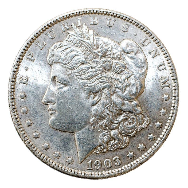 1903 δολάριο του Morgan στοκ φωτογραφία με δικαίωμα ελεύθερης χρήσης