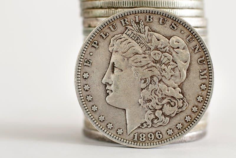 1896 δολάριο του Morgan στοκ φωτογραφία με δικαίωμα ελεύθερης χρήσης