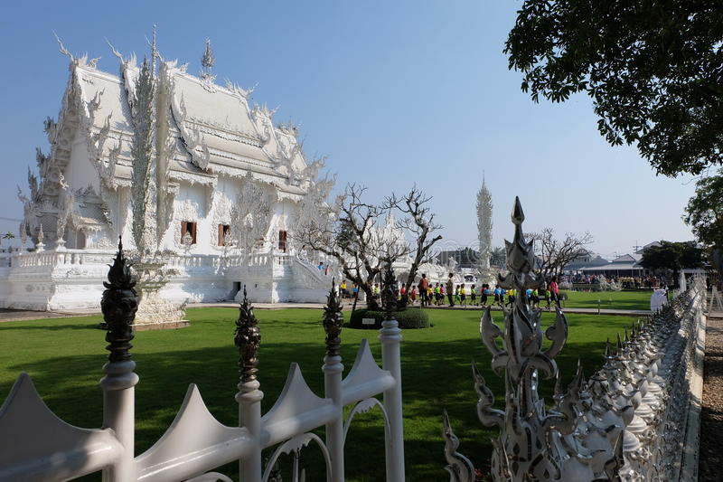 Ο άσπρος ναός στοκ εικόνες με δικαίωμα ελεύθερης χρήσης