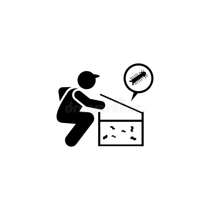 Ο έλεγχος, πρόστιμο, καλεί το εικονίδιο Στοιχείο aedes του κουνουπιού και του εικονιδίου δαγκείου r r ελεύθερη απεικόνιση δικαιώματος