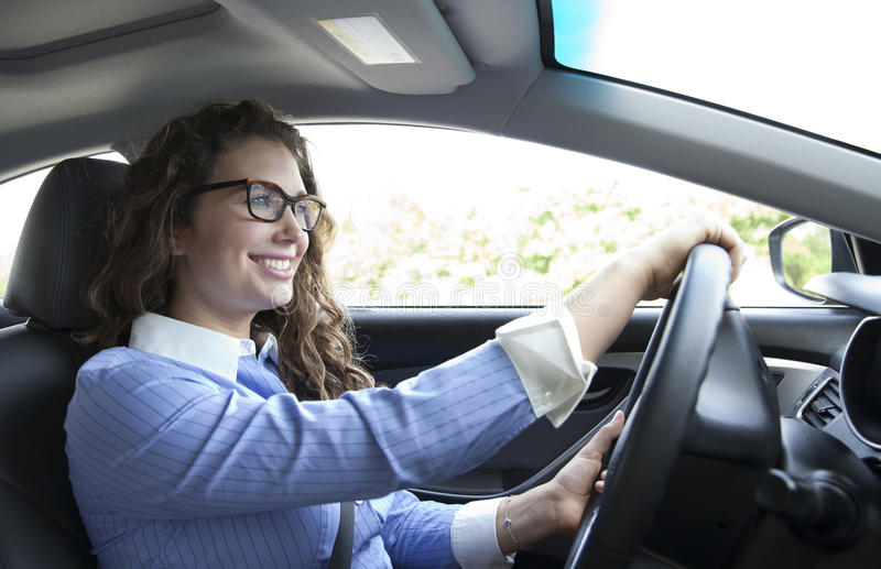 οδήγηση στην εργασία στοκ εικόνες με δικαίωμα ελεύθερης χρήσης