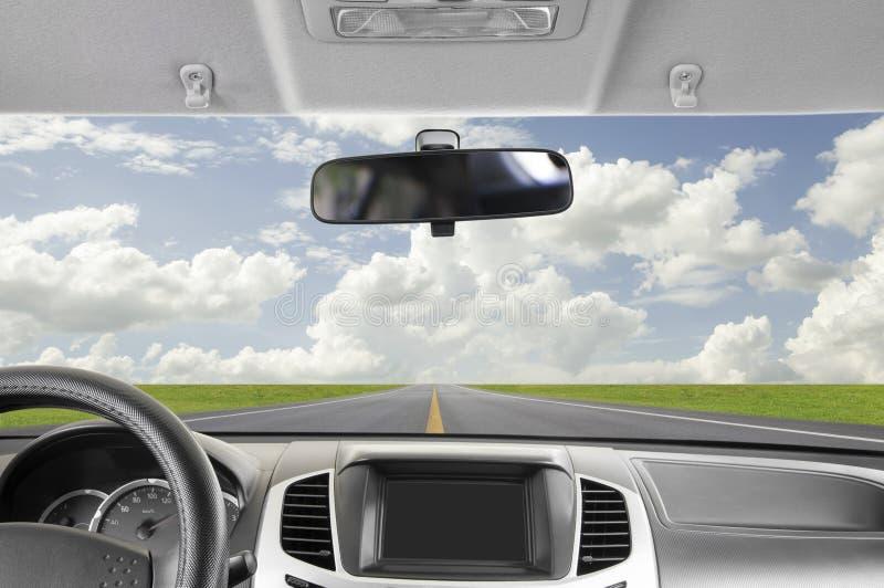 Οδήγηση στον ουρανό στοκ εικόνες