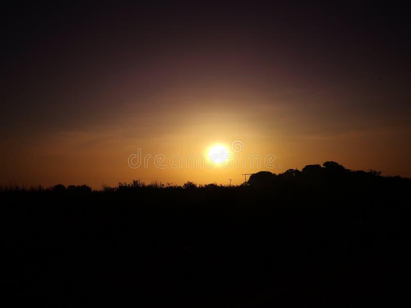 Ο ήλιος αυξάνει το χρώμα στοκ εικόνα με δικαίωμα ελεύθερης χρήσης