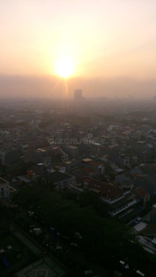Ο ήλιος με ξυπνά στοκ εικόνα με δικαίωμα ελεύθερης χρήσης