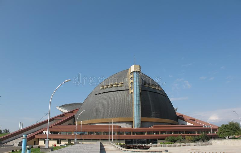 Ο αθλητισμός και η συναυλία σύνθετοι είναι ένα από τα μεγαλύτερα συγκροτήματα συναυλίας σε Jerevan στοκ φωτογραφίες με δικαίωμα ελεύθερης χρήσης