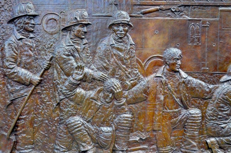 Ο αναμνηστικός τοίχος στοκ φωτογραφία με δικαίωμα ελεύθερης χρήσης