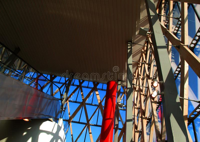 Ο ανατολικός σταθμός τρένου στο umea στοκ εικόνα με δικαίωμα ελεύθερης χρήσης
