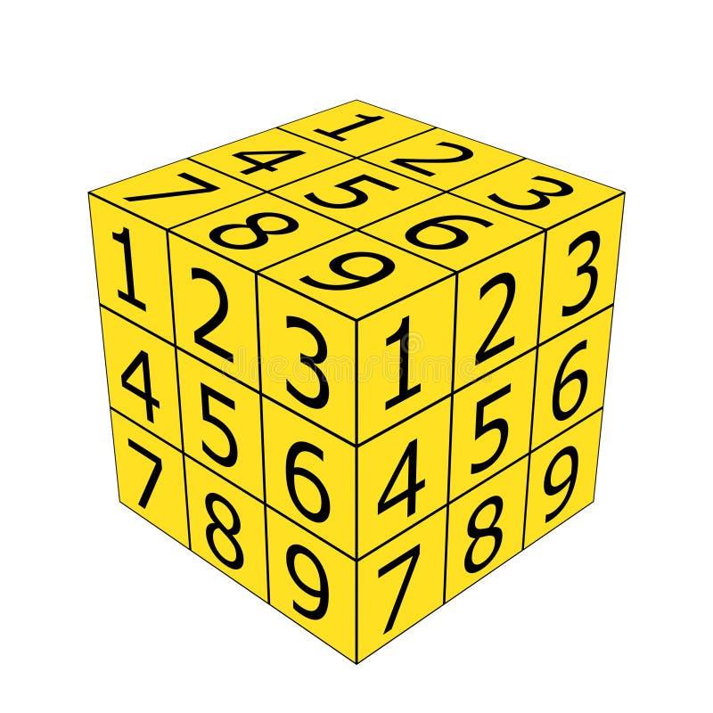 Ο αριθμός χωρίζει σε τετράγωνα απεικόνιση αποθεμάτων