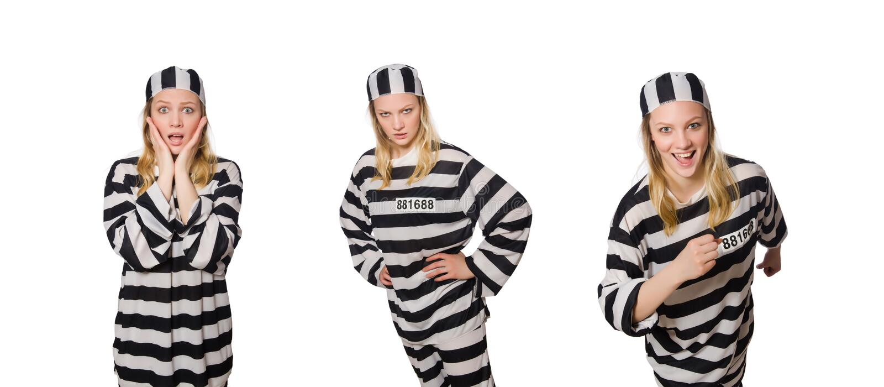 Ο αστείος τρόφιμος φυλακών στην έννοια στοκ εικόνες με δικαίωμα ελεύθερης χρήσης