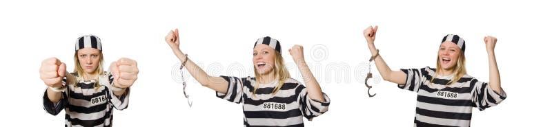 Ο αστείος τρόφιμος φυλακών στην έννοια στοκ φωτογραφία με δικαίωμα ελεύθερης χρήσης