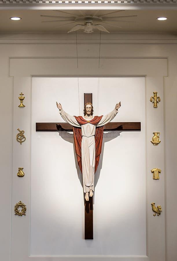 Ο αυξημένος Ιησούς στοκ φωτογραφία