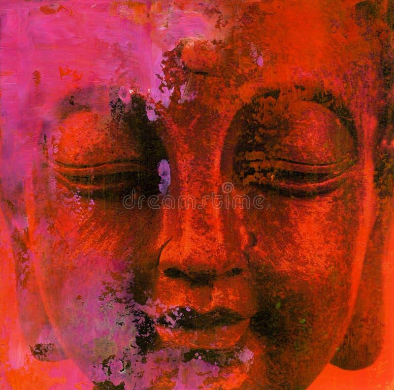 ο αφηρημένος Βούδας στοκ φωτογραφίες με δικαίωμα ελεύθερης χρήσης