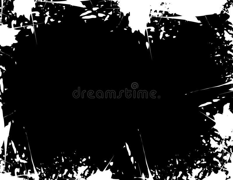 ο αφηρημένος Μαύρος ανασ&kappa ελεύθερη απεικόνιση δικαιώματος