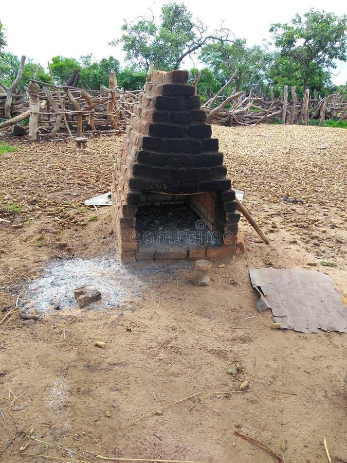Ο αφρικανικός φούρνος στοκ φωτογραφίες με δικαίωμα ελεύθερης χρήσης
